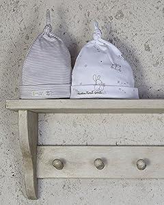 The Essential One - Paquete de 2 Gorro para bebés Gorro para bebé algodón EOH9 marca The Essential One