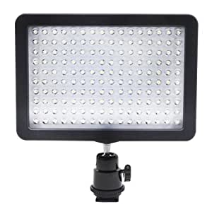 buy neewer bestlight ultra high power 160 led video light panel with shoe adapter for canon. Black Bedroom Furniture Sets. Home Design Ideas