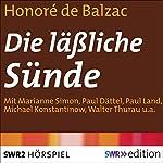 Die läßliche Sünde | Honoré de Balzac