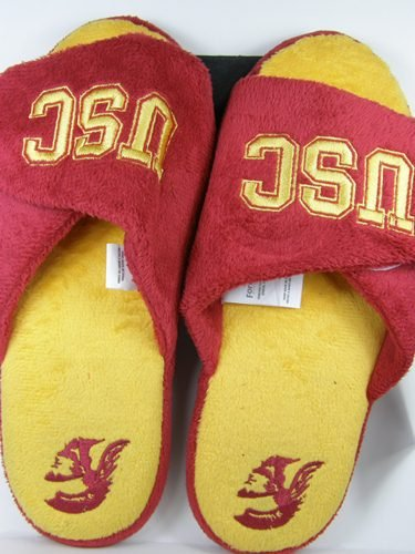 Cheap USC Trojans 2011 Open Toe Two Tone Hard Sole Slippers (B006KYQQIA)