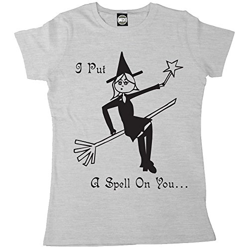 Batch1 Women's Halloween Witch I Put A Spell On You Printed T-Shirt