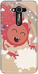 The Racoon Lean Happy Sun hard plastic printed back case/cover for Asus Zenfone 3 Laser Ze 520Kl