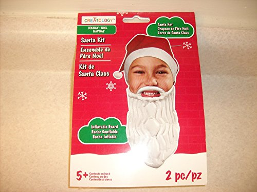 Creatology Christmas Santa Kit Hat & Inflatable Beard