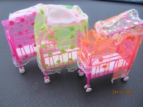 1x-Barbie-Sindy-Shelly-Puppe-Groe-Mbel-Zubehr-Kinderbett-Kinderwagen-Kinderwagen-Puppe-Nicht-Enthalten-Nicht-Mattel-Durch-Fett-Catz-Copy-Catz