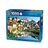 King Semur-en-Auxois Jigsaw Puzzle (1000 Pieces)