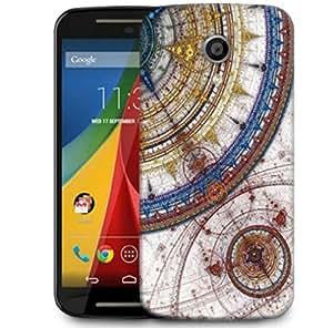 Snoogg Fractal Design Artistic Designer Protective Phone Back Case Cover For Motorola G 2nd Genration / Moto G 2nd Gen