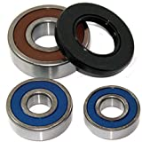 Caltric REAR WHEEL BALL BEARINGS & SEALS Fits SUZUKI GSX600F GSX-600F Katana 600F 1988-1996 (MODEL J only)
