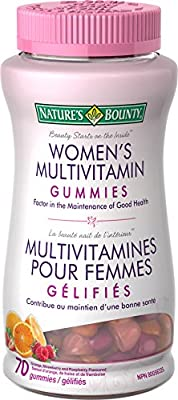 Nature's Bounty Women's Multivitamin Gummy, 70 Count