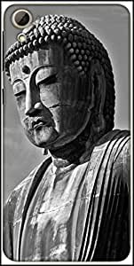 Snoogg Buddha Statue Designer Protective Back Case Cover For HTC Desire 826