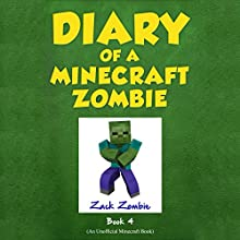 Diary of a Minecraft Zombie, Book 4: Zombie Swap Audiobook by Zack Zombie Narrated by Nathan W Wood
