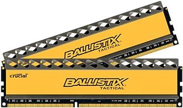 Crucial Ballistix Tactical 16GB Kit (8GBx2) DDR3 1600, PC3-12800 Memory BLT2KIT8G3D1608DT1TX0/BLT2CP8G3D1608DT1TX0