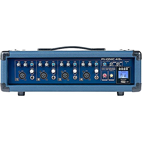 Phonic Powerpod 415R 150W 4-Channel Powered Mixer with USB Recorder (Standard) (Preset Hi Mixer compare prices)