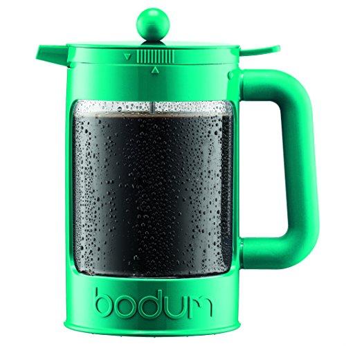Bodum K11683-159 Bean Set Ice Coffee Maker, 12 Cup/51 oz, Turquoise