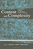 img - for Content and Complexity: information Design in Technical Communication book / textbook / text book
