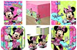 Disney Minnie Mouse Bow-tique Deluxe Party Pack For 8 Guests!