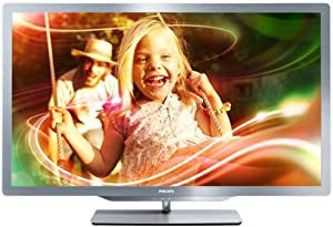 "Philips 47PFL7606H TV LCD 47"" LED HD TV 1080p 3D Ready 400 Hz PMR Smart TV 4 HDMI USB Ambilight"