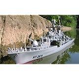 """RC Schiff, Ferngesteuert, RC Boot, RTR, Zerst�rer, Kriegsschiff, 80 cm lang, 227von """"Brigamo"""""""