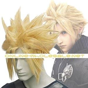 Japan Anime Final Fantasy Cloud Strife Cosplay Wig