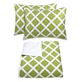 Blissliving Home Kew Comforter Set, Full/Queen, Green