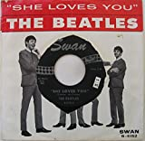 she loves you 45 rpm single