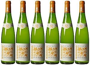 Koenig Muscat Vin D'alsace 2011 75 cl (Case of 6)