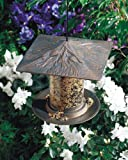 Whitehall Products Pinecone Tube Feeder, 6-Inch, French Bronze