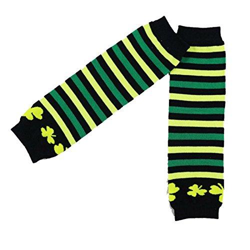 Wennikids -  Scaldamuscoli  - Bebè femminuccia Green Yellow Black Stripe