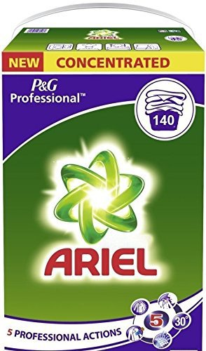 Ariel P&G Professional Powder XXXL GIGA Pack x 140 Washes (x 180 Domestic Washes) 9.1kg (Regular)
