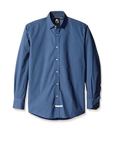 English Laundry Men's Diamond Pattern Sport Shirt