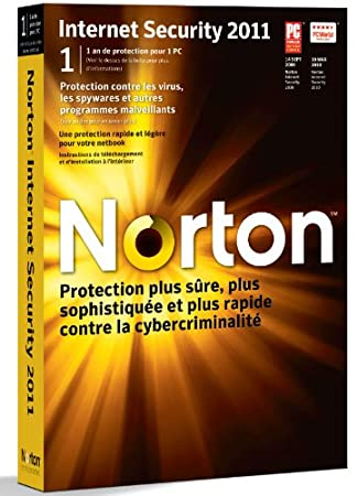 Norton internet security 2011 (1 poste, 1 an)
