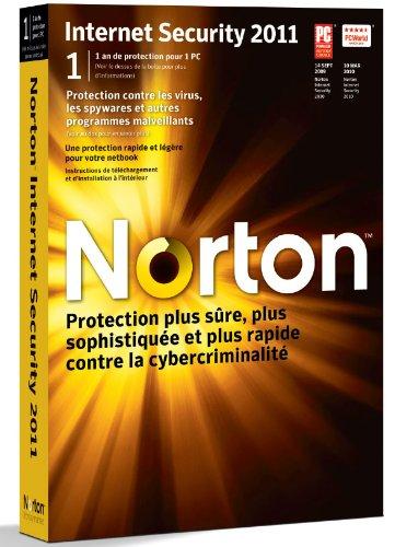 Antivirus / Sécurité SYMANTEC NORTON INTERNET SECURITY 11/1PC