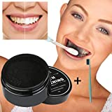 Teeth Whitening Charcoal Powder,Elaco Natural Organic Activated Bamboo Toothpaste (C)