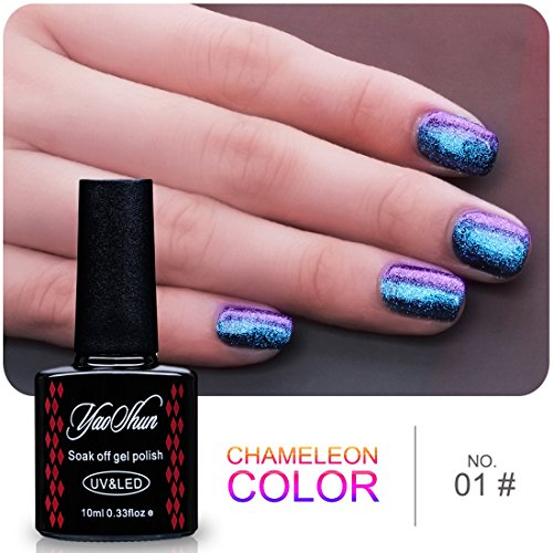 Yaoshun-Gel-Nails-PolishHolographic-Glitter-Starry-Galaxy-Chameleon-Colors-Changes-UV-LED-Nail-Polish-10ml