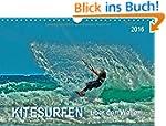 Kitesurfen - �ber den Wellen (Wandkal...