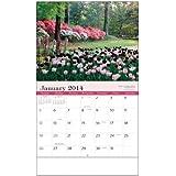 Gardens Stapled Wall Calendar Trade Show Giveaway