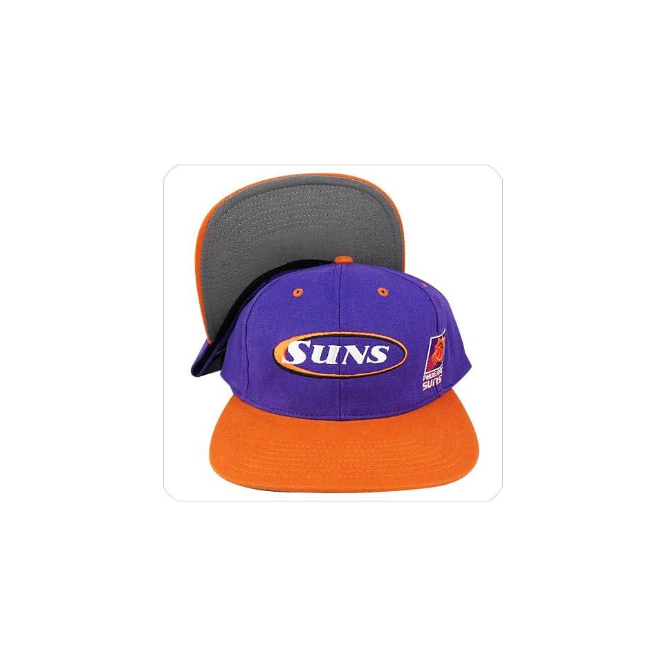 11fba43ffa6a4 phoenix suns purple orange under visor   bill snapback hat cap Sports