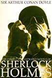 The Complete Illustrated Novels of Sherlock Holmes: A Study in Scarlet, The Sign of the Four, The Hound of the Baskervilles & The Valley of Fear (Engage ... (Active Table of Contents) (Illustrated)