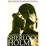 The Complete Illustrated Novels of Sherlock Holmes: A Study in Scarlet, The Sign of the Four, The Hound of the Baskervilles & The Valley of Fear (Engage Books) (Active Table of Contents) (Illustrated) ~ Sir Arthur Conan  Doyle