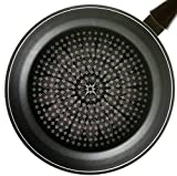 "TeChef - Blooming Flower 11"" Frying Pan, with Teflon ® Platinum Non-Stick Coating (PFOA Free) / Induction Ready / Ceramic Coated Outside (11 IN (28 cm))"