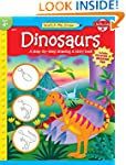 Dinosaurs: A step-by-step drawing and...
