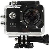 Action Camera HD 1080p 12MP Waterproof Sports Camera (1080P)