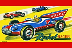 Canvas Print, Rocket Racer - 20x30