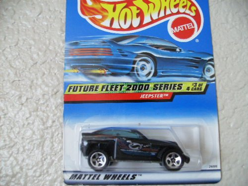Hot Wheels Jeepster 2000 Future Fleet 2000 Series Unpainted Base