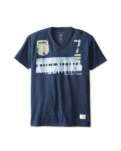 Kinetix Men's Pima Argentina V-Neck T-Shirt