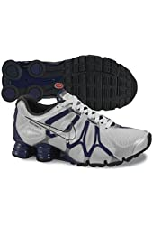 Womens Nike Shox Turbo+ 13 Running Shoes Pure Platinum / Night Blue / Anthracite / Metallic Silver 525156-004