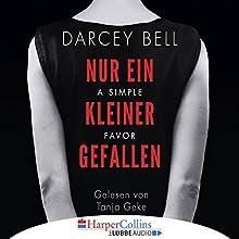A Simple Favor - Nur ein kleiner Gefallen Hörbuch von Darcey Bell Gesprochen von: Tanja Geke