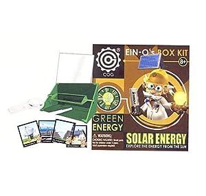 Solar Energy Box Kit Toys Games