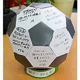 卒業記念、卒部記念などの贈り物に最適!貯金箱にもなる寄せ書きサッカーボール10枚セット