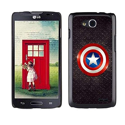 Custom Design Case For LG Optimus L90 Captain America,The Winter Soldier Pattern Printed Hard Plastic Case (Lg L90 Captain America Case compare prices)