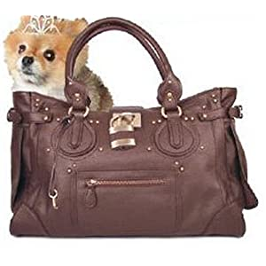 Metro Chic Designer Pet Carrier